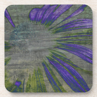 Purple Expressions Coaster Set