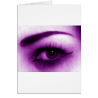 Purple Eye Card