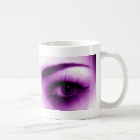 Purple Eye Coffee Mug