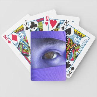 Purple Eye of NIN Playing Cards