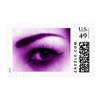 Purple Eye Postage