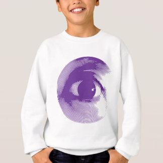 Purple eye sweatshirt