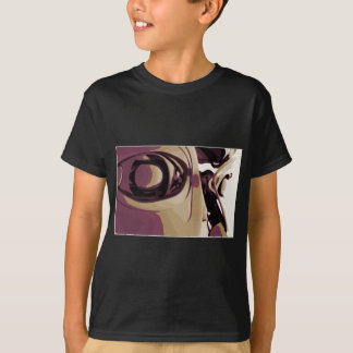 Purple Eyed Robot T-Shirt