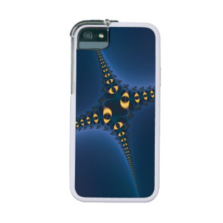 Purple Eyes Fractal iPhone 5 Cover