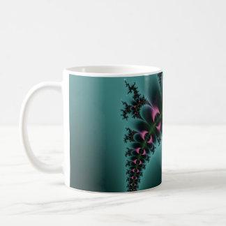 Purple Eyes Fractal Coffee Mug