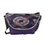 Purple Eyes Messenger Bag