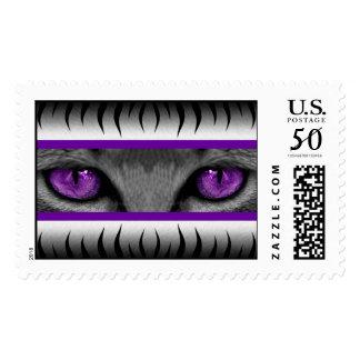 Purple Eyes Postage