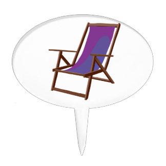 purple fabric beach chair.png cake topper