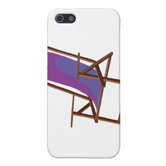purple fabric beach chair.png iPhone 5 covers