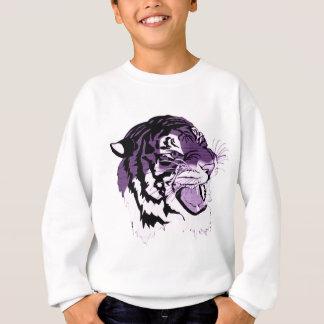 Purple Faced Tiger Sweatshirt