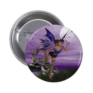 Purple Fae Pinback Buttons