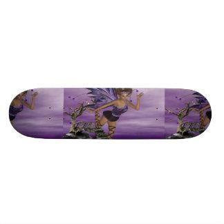 Purple Fae Skate Board