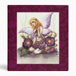 Purple Fairy 3 Ring Binder