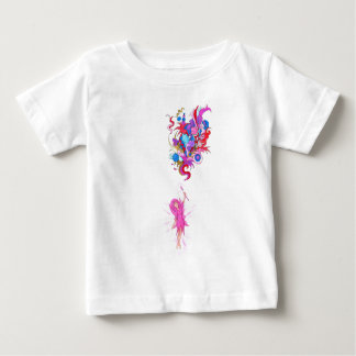 Purple Fairy and Plume Baby T-Shirt