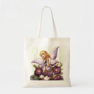 Purple Fairy Tote Bags