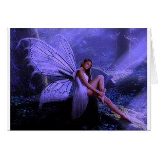 Purple Fairy Card