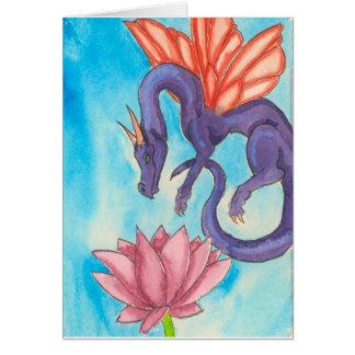 Purple Fairy Dragon Card