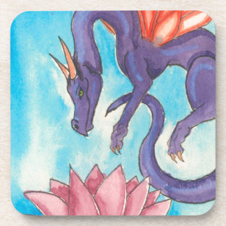 Purple Fairy Dragon Coaster