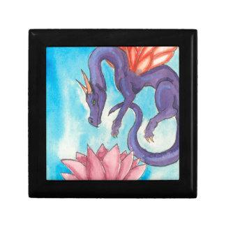 Purple Fairy Dragon Keepsake Box