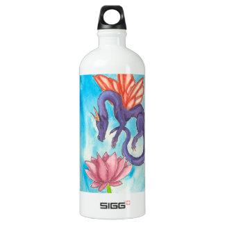 Purple Fairy Dragon Water Bottle
