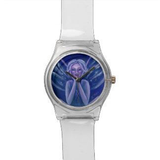 Purple Fairy Fantasy Heart Watch