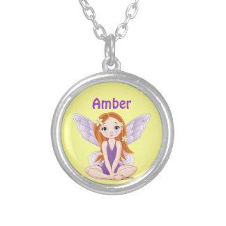 Purple Fairy Necklace