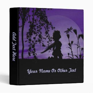 Purple Fairy Night Binder