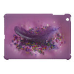 Purple Fairys Feather iPad Mini Cases