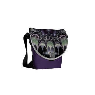 Purple Fairytale Messenger Bag