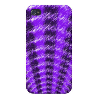 Purple Fan Cases For iPhone 4