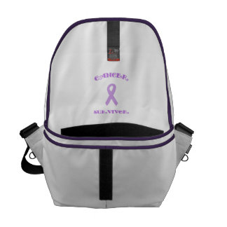 Purple Fancy Survivor Courier Bag