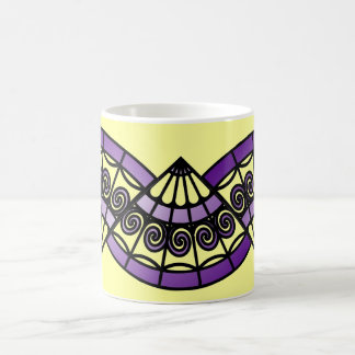 Purple Fans Coffee Mug