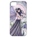 Purple Fantasy Fairy Art iPhone Case