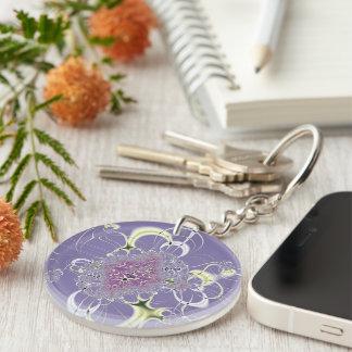 Purple Fantasy Keychain
