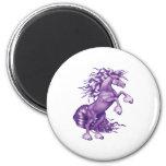 Purple Fantasy magnet Magnet