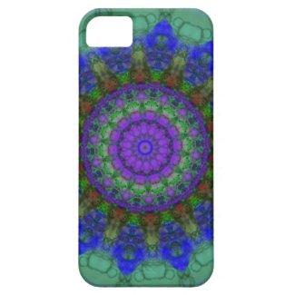 Purple Fantasy mandala iPhone 5 case