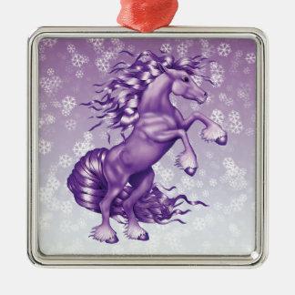 Purple Fantasy Metal Ornament