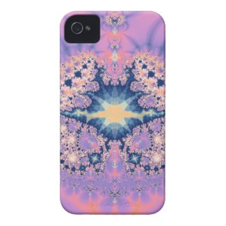 Purple Fantasy Pattern Id Iphone 4 Covers