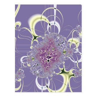 Purple Fantasy Postcard