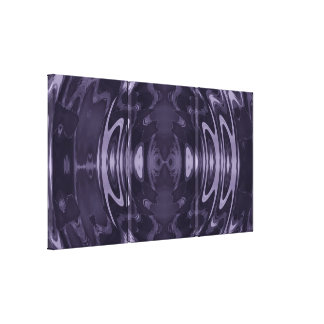 Purple Fantasy Wrapped Canvas