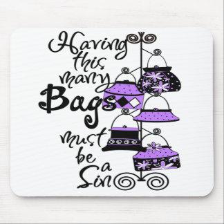 Purple Fashion Mousepad