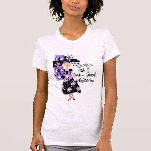 Purple Fashion Tee