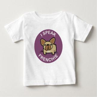 Purple Fawn I Speak Frenchie Baby T-Shirt