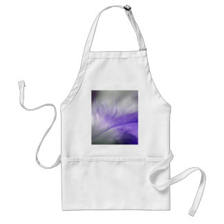 Purple Feather Adult Apron