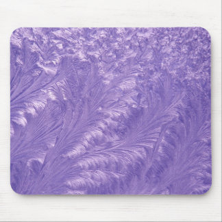 Purple Feathers Mouse Mats