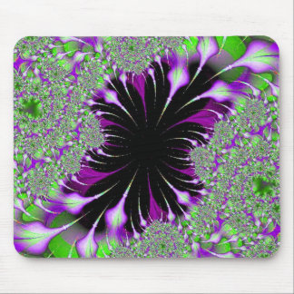 Purple Features Fractal mousepad
