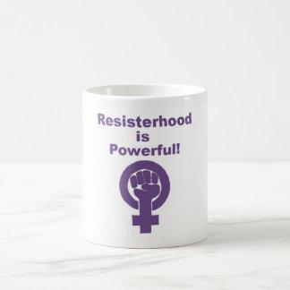 Purple Feminist Mug Gift for Her