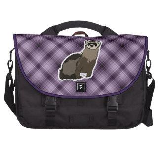 Purple Ferret Laptop Bag