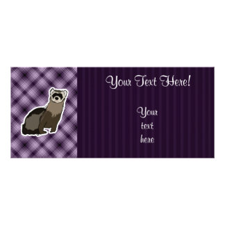 Purple Ferret Rack Card