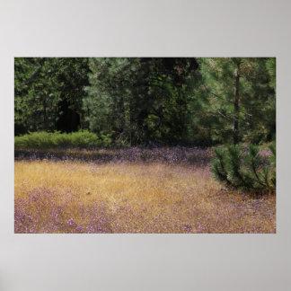 Purple Field 2 Poster